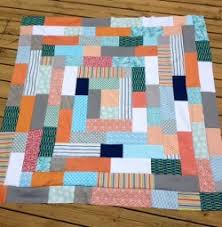 13 Easy Rustic Log Cabin Quilts and Squares - Seams And Scissors & Giant Log Cabin Quilt Adamdwight.com