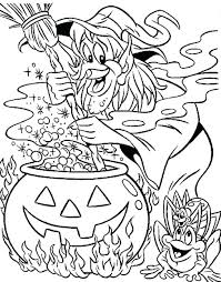 Halloween Coloring Pages Printable Witches Free Printable Witch