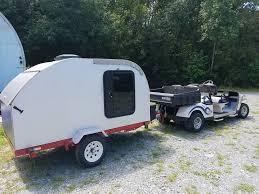 diy teardrop camper trailer