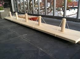 Wooden Pegs For Coat Rack DIY coat rack mosey 55