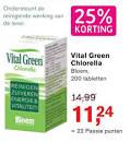 werking chlorella tabletten