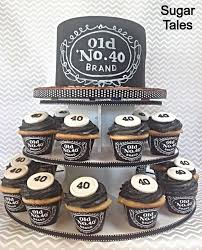 Jack Daniels Inspired Cake And Cupcakes Wrappers From Ez Party