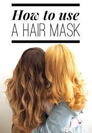 hair romance how to use a hair mask