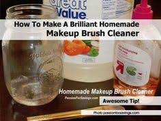 home remedy soap middot how to make a brilliant homemade makeup brush cleaner