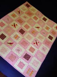 Pink Squares in Squares Baby Quilt & I love to make baby quilts for girl. I love pink. I think that this quilt  is nice and pink and girly but not too cutesy. It's machine pieced and  quilted ... Adamdwight.com