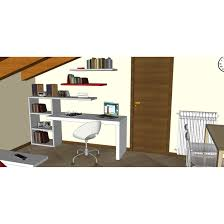 open space home office. Open Space 3D Design - Home Office Detail