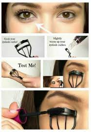 how to use eyelash curler. curling your eyelashes with an eyelash curler while applying mascara at the same time helps keep them curled longer. | makeup lover. how to use