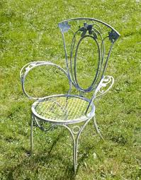 wrought iron garden furniture antique. elegant vintage wrought iron outdoor furniture patio garden antique