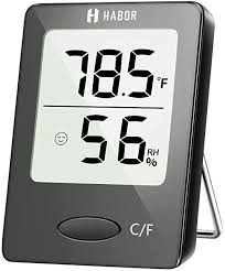 Habor Digital Hygrometer Indoor Thermometer ... - Amazon.com