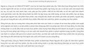 Bài 1: Xem quy trình sản xuất của Công ty Bánh kẹo Phạm Nguyên tại tỉnh  Hưng Yên