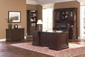 wooden home office. Stylish And Wonderful Home Office Room Decoration Design With Wooden Furniture Y