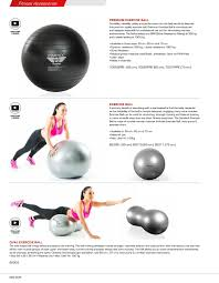 Free Exercise Ball Chart Gymstick Catalog 2018 By Gymstick Issuu