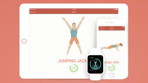 seven 7 minute workout app on ipad iphone and apple watch