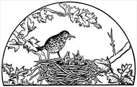 bird nest clipart black and white. Wonderful Clipart Free Birds Clipart Nest On Bird Clipart Black And White