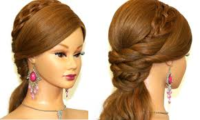 Easy Hair Style For Girl easy prom hairstyle for long hair tutorial youtube 7268 by wearticles.com