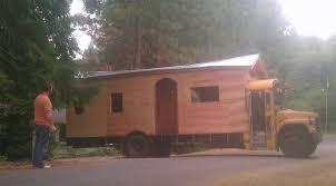 tiny house school bus. School Bus Tiny House