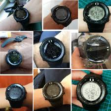 OTS <b>Men's Watches Sport Digital Watch Men</b> LED 50M Waterproof ...