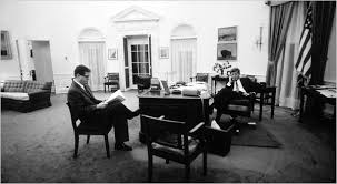 john f kennedy oval office. Ted Sorenson With John F. Kennedy In The Oval Office 1961 F E