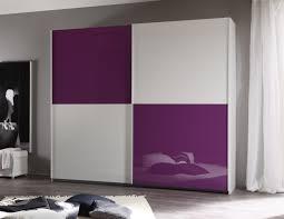 Bedroom Furniture  Big Wardrobe Purple Sliding Wardrobe Doors - Bedroom wardrobe sliding doors