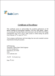6 Experience Letter Telecom Primary Write