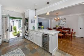 Kitchen Peninsula Kitchen Peninsula With Ovens And Wine Cooler Nott Associates