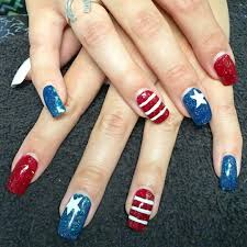 60 best ideas about 4th Of July Nail art | Nail art designs & diy