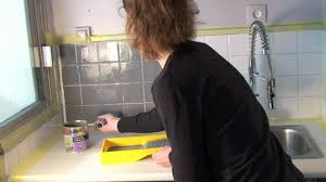 Peindre Son Carrelage Avec Les Peintures Julien Youtube