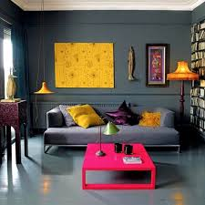 moroccan lounge furniture. Favorable Decorating Ideas Moroccan Inspired Small Space Decor Ctic Living Room Furniture Pink Coffee Table Grey Simple Lounge Sofa Yellow Pendant Lamp S