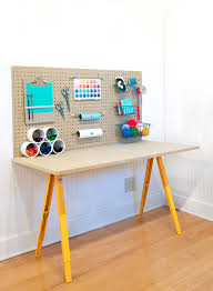 diy crafting desk for your kids via handmadecharlotte