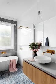 simple white bathrooms. Crisp Freestanding Bath Tub With Grey Tiles Simple White Bathrooms D