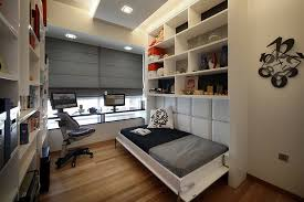 comfortable small bedroom with modern home office finding your personal bedroom ideas with the help from bedroom home office