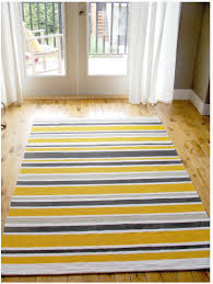 fascinating ikea striped rug stockholm rug ikea yellow black and gray curtain gray wall wooden floor