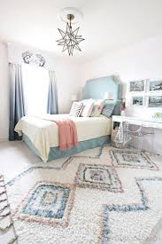 new colored Moroccan shag rug. Blue Girls BedroomsKid ...