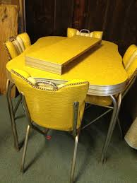 1950s style tables and chairs vintage kitchen table old