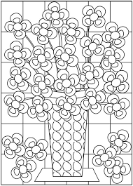 Small Picture 36 best Flower Coloring Sheets images on Pinterest Flower
