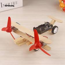 BRIT_Creative Bi-wing <b>Electric Sliding Aircraft DIY</b> Science ...