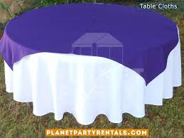 table cloths with diamond for round tables