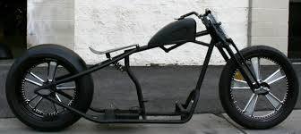 bobber rolling chassis single down tube moto rolling chassis