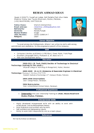 Resume Formats For Word Lcysne Com