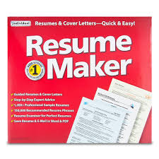 Resumemaker 16 Resumes Cover Letters Quickly Easy