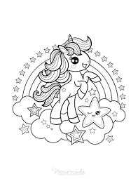 Show them your love and affection and let them show their artistic and creative sides. 75 Magical Unicorn Coloring Pages For Kids Adults Free Printables