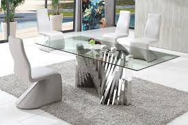 Modern Dining Table Simple Decor Modern Dining Table