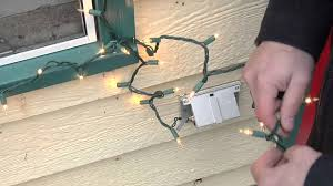 Youtube How To Fix Christmas Lights How To Decorate A Window With Christmas Tree Lights