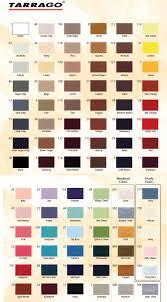Tarrago Leather Dye Color Chart Tarrago Shoe Cream