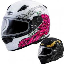 Gmax Ff49s Yarrow Womens Snowmobile Helmets