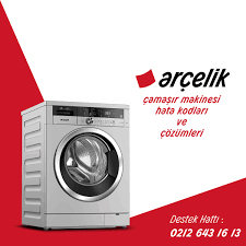 Arçelik Çamaşır Makinesi F08 Hata Kodu - Arçelik Servisi - 0212 643 16 13