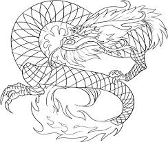 Small Picture Realistic Dragon Coloring Pages For Adults Free Printable