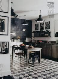 black and white floor tile kitchen. classic black and white kitchen alluring 80+ tile design decoration of floor p
