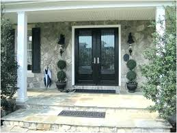 modern front double door. Modern Double Front Doors Entry With  Sidelights Door Entrance . O
