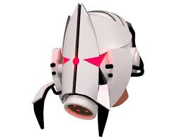this papercraft is a life size aperture science sentry turret solr helmet based on the half life 2 or portal 2 game the paper model created by n